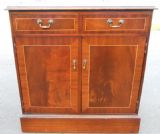 SOLD - Small Mahogany Sideboard Cupboard Base